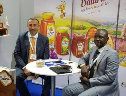 At the one of the most world prestigious exhibition (Gulfood 2018)